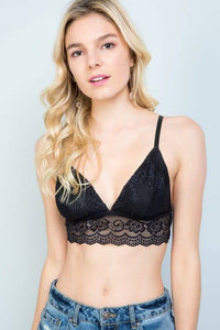 Lace Bralette - Breazy's Boutique