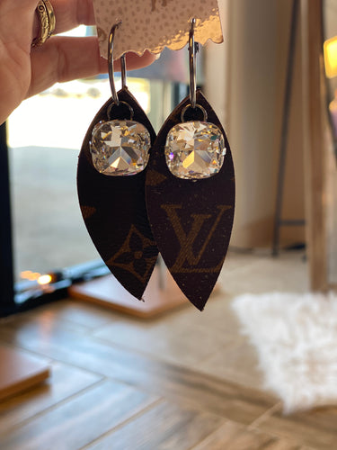 Louis Vuitton Earrings With Stone