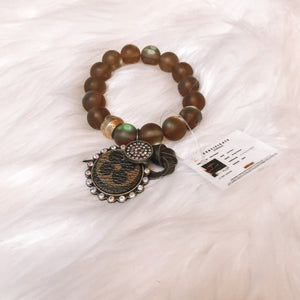 Brown Moon Stone Bracelet