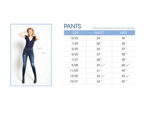 Get Lost High Rise Skinnies