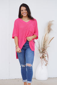 Knit It Together Sweater Top