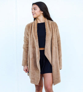 Dress Me In Sherpa Jacket