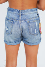Load image into Gallery viewer, DISTRESSED JEAN SHORTS