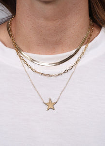 Living Like A Rockstar Necklace