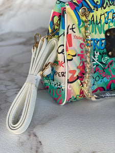 Repurposed LV Graffiti Purse