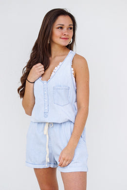 DRAW STRING ROMPER