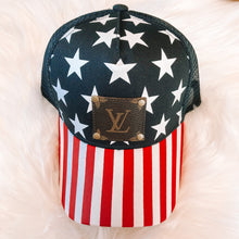Load image into Gallery viewer, Mesh American Flag LV Hat