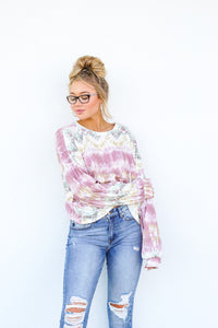 Sunset Drives Knit Top