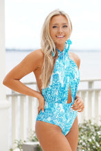 Load image into Gallery viewer, Blue Bayou Babe One Piece