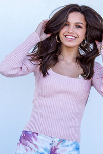 Pink Treat Long Sleeved Top