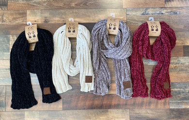 Chenille Scarves