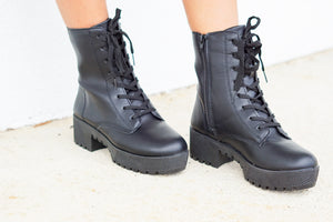 Combat With Me Boots