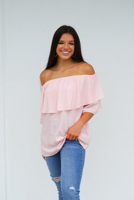 Bless Your Heart Off Shoulder Top
