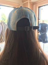 Load image into Gallery viewer, Denim & Bling LV Hat