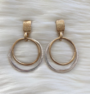 Pretty In Hoops Earrings