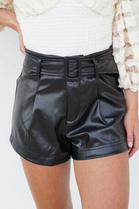 She's Got It Leather Shorts