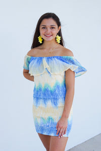 Staycation TieDye Tube Dress