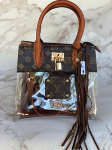 LV Clear Purse