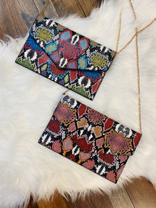 Multi Snake Clutch With Chain