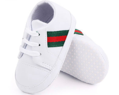 Infant Designer Dupe Tie Shoes