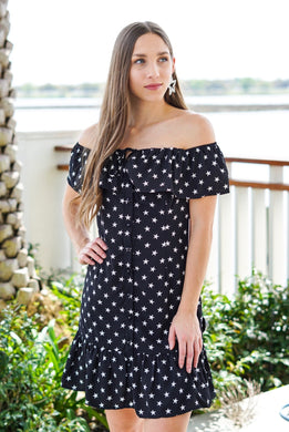 Ruffle Star Dress