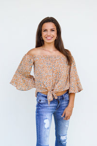 Up To No Good Cropped Blouse
