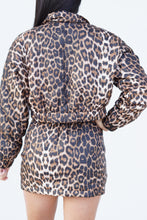 Load image into Gallery viewer, Winter Vacation Leopard Jacket
