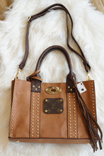 Load image into Gallery viewer, Leather & Brown LV Purse