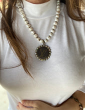 Load image into Gallery viewer, Repurposed LV Pearl or Brown Necklaces