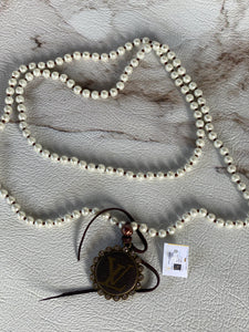 LV Long Wrap Pearl Necklace
