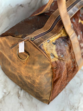 Load image into Gallery viewer, LV Hair On Hide Acid Wash Duffle Bags