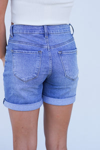 Back To The Future Cuffed Shorts