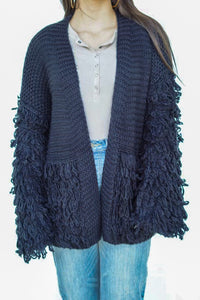 Feathered Cardigan