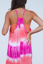 Load image into Gallery viewer, Walk On The Beach Tie Dye Maxi