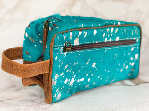 Repurposed LV Blue Crush Toiletry Bag