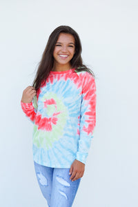 In the Groove Tie Dye Sweatshirt