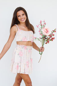 Floral Two-Piece Set