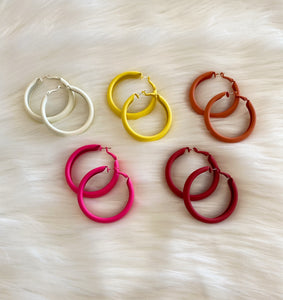 50MM Thick Color Hoops