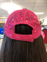 Load image into Gallery viewer, LV flower hot pink hat