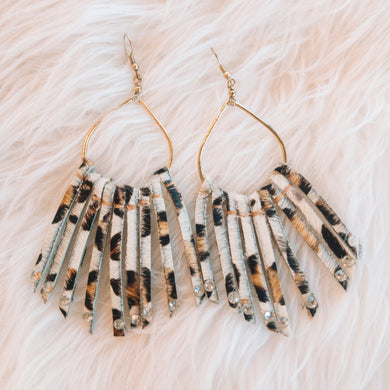 Cheetah Spirit Earrings