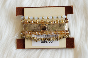 All The Pretty Things LV Stretch Bracelet Set
