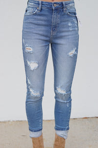 No Rules High Rise Skinny Jeans
