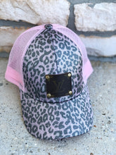Load image into Gallery viewer, LV leopard pink hat