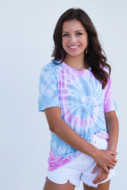 Call It What You Want Tie Dye Tee