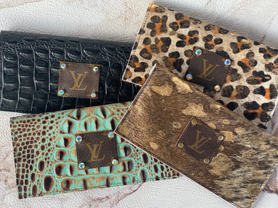 Repurposed LV Wallets
