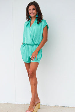 Ticket To Paradise Romper