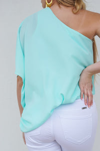 Classy & Sassy One Shoulder Top