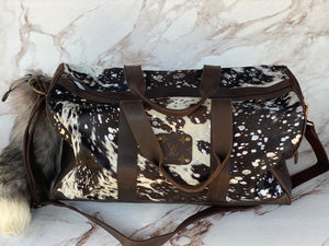 LV Hair on Hide Duffle Bag