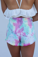 Load image into Gallery viewer, Out Of My Mind Tie Dye Shorts