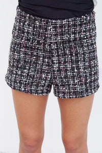 This Girl Is On Fire Shorts Set